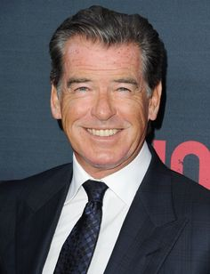 Pin for Later: 22 Celebrities You Didn't Know Were Only Children Pierce Brosnan