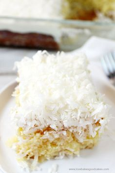 The classic flavor of the fan-favorite coconut cream pie is transformed into one of the best poke cake recipes you'll ever come across. Better-Than-Sex Coconut Cream Pie Poke Cake is wonderfully moist and sweet.