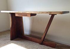 Beautiful Solid Walnut Desk