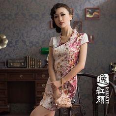 e cheongsam dress 2012 Cheongsam Modern, Asian Fashion, Chinese Fashion, Cheongsam Dress, Dress Making Patterns, Chinese Style, Dressmaking, Womens Fashion, Fashion Trends