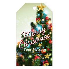 Merry Christmas 71 Options Gift Tags