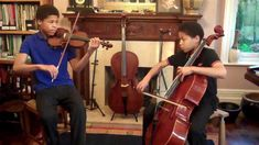 These two teen brothers are from an accomplished musical family in the UK. In this video, Braimah and Sheku Kanneh-Mason are having fun with a lively tune. Their mother Kadie and father Stuart are talented pianists, and obviously know how to create a musically enriched home life!