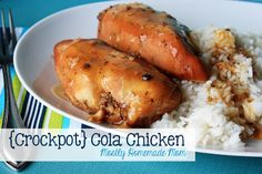 Mostly Homemade Mom: {Crockpot} Cola Chicken