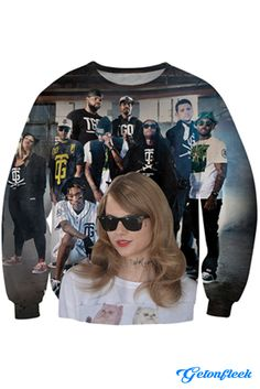 Taylor Gang Crewneck - Shop the largest all over print clothing store today! www.getonfleek.com