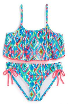 I just got this last week for Crawford... cute!!! Ella Moss Two-Piece Swimsuit | Nordstrom
