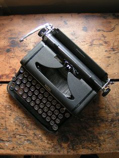 Vintage Portable Royal Companion Typewriter in by CopperAndTin