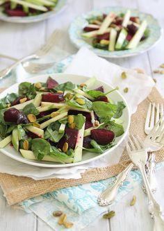 Roasted Beet & Apple Salad.