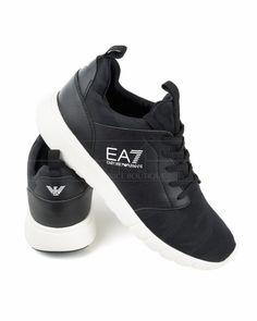 Zapatillas EA7 Emporio Armani New Racer - Camuflaje Negro