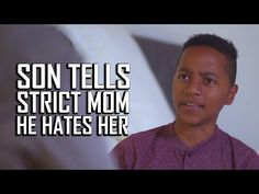 Son Tells Mom He Hates Her, Then Learns An Important Lesson Motivational Videos, You Gave Up, Be A Better Person, Relationship Tips, Getting Old, Meant To Be, Sons, Hate, Parents