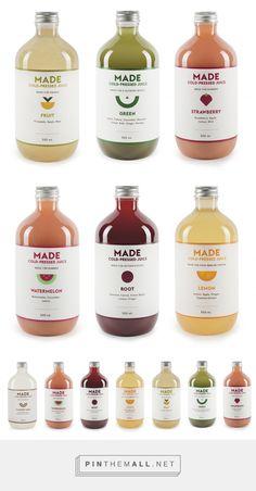 Made Juice — The Dieline - Branding & Packaging - created via…