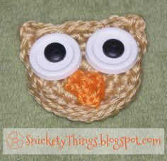 Crocheted Owl fromSnickety Things