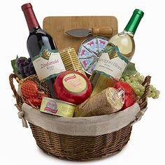 Wedding Gift Baskets Ontario : ... Ontario, brought a fancy gift-basket (and some gag-gift candy) to the