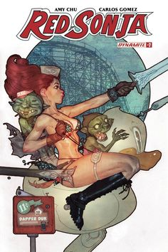 Red Sonja Vol 7 #7 Cover B Variant Ben Caldwell Cover