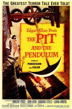 """The Pit And The Pendulum (1961) Happily-ever-after goes under the knife in this """"eerie [and] excellent"""" (The Hollywood Reporter) saga of murder, madness and forbidden desire. Starring Hollywood horror"""
