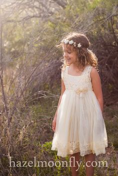 I love this soft, pretty dress for a little girl.  I have this dress in my wardrobe, available for clients to use.  Purchased from Hazelmoonfly.  #cedarburg #wisconsin #ozaukee #milwaukee #newborn #maternity #photographer