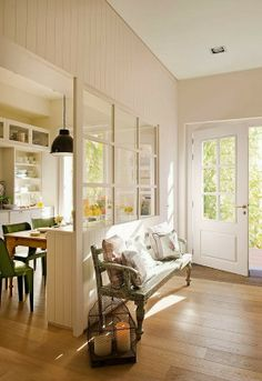 Nordic atmosphere for a Spanish house