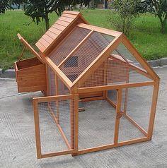 Chicken Coop Plans Free, Chicken Coop Kit, Chicken Coop Blueprints, Portable Chicken Coop, Chicken Coop Designs, Backyard Chicken Coops, Building A Chicken Coop, Chicken Runs, Chickens Backyard