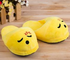 Features:  -Wear your favorite character on your feet.  -Wear-resisting .  -Skid resistant.  Color: -Yellow.  Product Type: -Slipper.  Gender: -Neutral.  Pattern: -Novelty.  Life Stage: -Adult/Teen. D