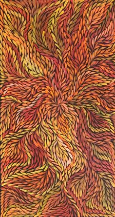 Jeannie Petyarre / Bush Leaves (8A) - 9076488