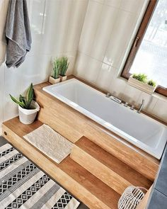 Budget Home Decorating - Get a Designer Home Makeover Without the Designer Price Tag Small Bathroom, Master Bathroom, Japanese Bathroom, Budget Home Decorating, Home Improvement Loans, Kitchen Wallpaper, Elegant Homes, White Houses, Bathroom Interior Design