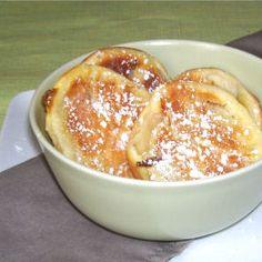 Légèreté & Gourmandises: Beignets de pommes a la poêle et fromage blanc 0%