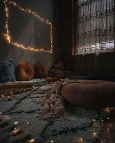 Cute Bedroom Decor, Cute Bedroom Ideas, Bohemian Bedroom Decor, Room Design Bedroom, Modern Bohemian Decor, Aesthetic Rooms, Stylish Home Decor, Cozy Room, Decoration Design
