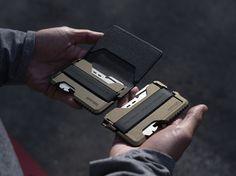 Dango Products wallet Spec Ops Edition in Burnt Bronze.