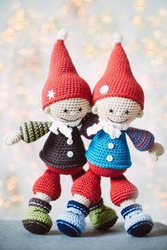 Jester The Christmas Gnome Amigurumi Pattern