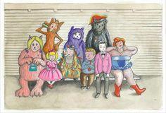 Our cartoon world