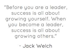 One of my favorite leadership quotes