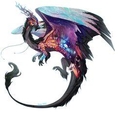 Auron by PlatinumLupin on DeviantArt Cute Fantasy Creatures, Mythical Creatures Art, Magical Creatures, Creature Concept Art, Creature Design, Creature Drawings, Animal Drawings, Wolf Drawings, Animal Espiritual