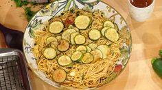 Paola Giaimo's Spaghetti with Fried Zucchini