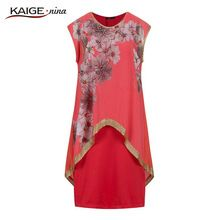 2017 Direct Selling Real Knee-length A-line Diamonds Summer Casual Polyester O-neck Women Dress Vestidos De Fiesta Robe 810#-1(China)