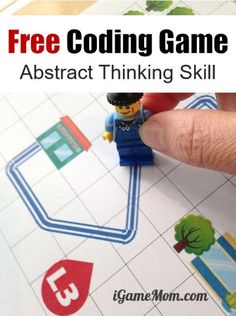 Free printable coding game for kids to learn critical thinking skills, think from different perspectives, include all scenario, abstract data. All crucial for computer coding and any STEM subject. Unplugged coding activity, no computer needed Stem Learning, Learning Tools, Learning Resources, Kids Learning Games, Games For Kids Classroom, Stem For Kids, Science For Kids, Summer Science, Coding Games For Beginners