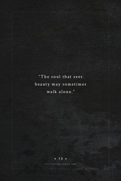 the soul that sees beauty