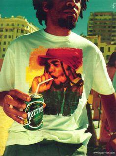 Flashback : 1998/2005 – La saga «Tee shirts de Perrier (Ogilvy&Mather) | «pub en stock