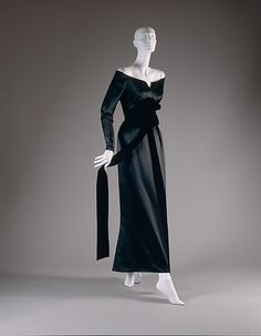 ~House of Dior Evening Dress, fall/winter 1955-56~