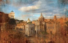 Diane Epstein Photography > Cityscapes of Rome Caput Mundi – Forum Sky, Rome   ref# 4739_layer www.epsteinphotography.com/projects/cityscapes/