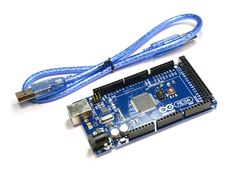 This is popular MEGA 2560 R3 Arduino compatible board for your DIY projects, robotics, automation, CNC and 3D printing. Please Note: Power connector on this board positioned 3mm close to the middle of