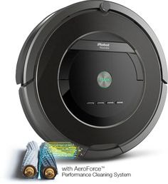 Roomba 800 Robot vacuum for our woods floors which get dirty super fast, yes please!