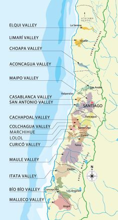Chile's wine regions