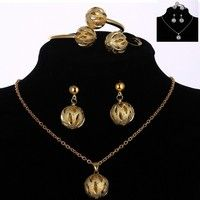 1.Item Type:	Jewelry Set 2.Fine or Fashion:Fashion 3.Metals Type:	Silver Plated/Gold Plated 4.Jewelr