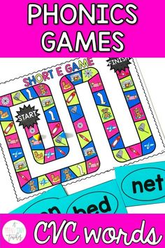 This Short Vowels Phonics Games resource is perfect for kindergarten, first, & second grade classrooms. This printable includes 6 games boards- short A, short E, short I, short O, short U, & mixed short vowel practice. Easy to store & organize, these are great to use during reading groups, word work, centers, intervention, with big buddies, and with parent volunteers. Grab these low prep, high interest, engaging games to add some fun to the CVC words review for your kinders, 1st, & 2nd graders.