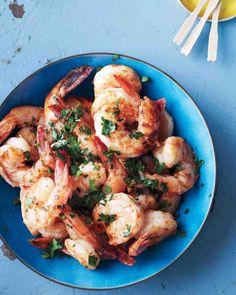 Smoky Herbed Shrimp