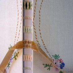vintage embroidered hand-bound book - Kate Bowles This is what inspires me to want to bind books.
