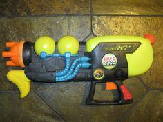 SUPER SOAKER Max D 6000 Pressurized Water Blaster Gun Larami 2001 VINTAGE #Larami