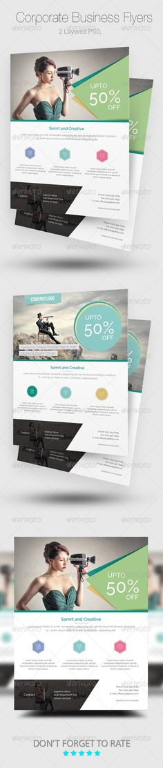Corporate Flyer Template PSD. Download here: http://graphicriver.net/item/corporate-flyer-templates/8167770?s_rank=798&ref=yinkira
