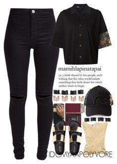 • Y-3 • by idcmyaa on Polyvore featuring mode, Y-3, New Look, Royce Leather and Maison Margiela