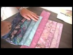 Bargello Quilting part 2 by ArbeeDesigns - YouTube