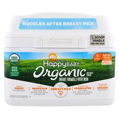 Nurture Inc. (Happy Baby), Organics Happy Baby, Infant Formula With Iron, Stage 1, Birth to 12 Months, 21 oz (595 g)